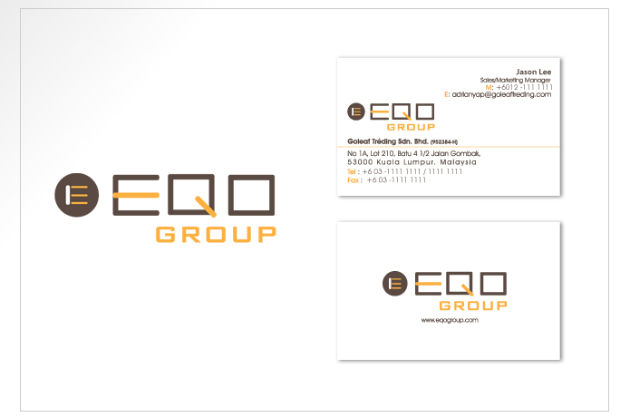 Logo and Name Card