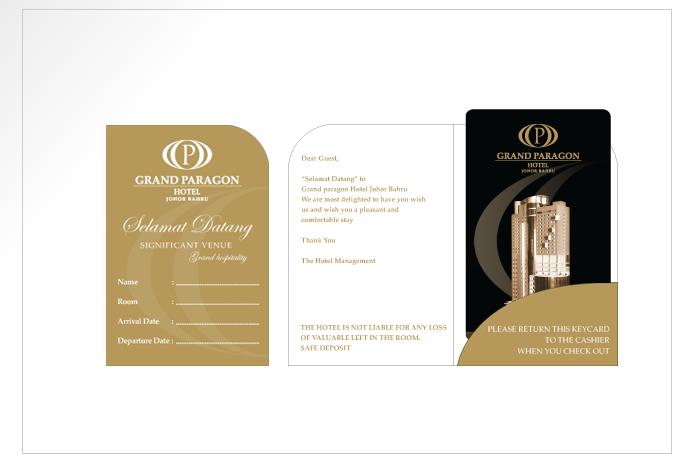Hotel access card design