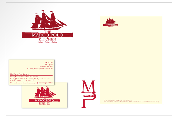 Logo, Name Card and Letterhead