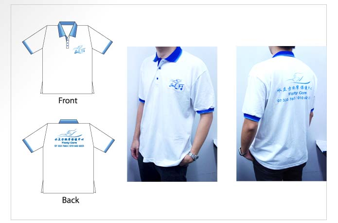 Footy Care Polo-T Design