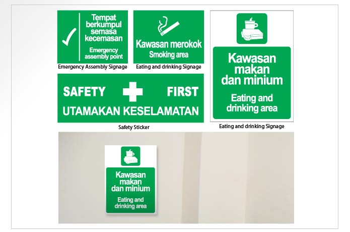 Dnynaciate Safety Signboard 8