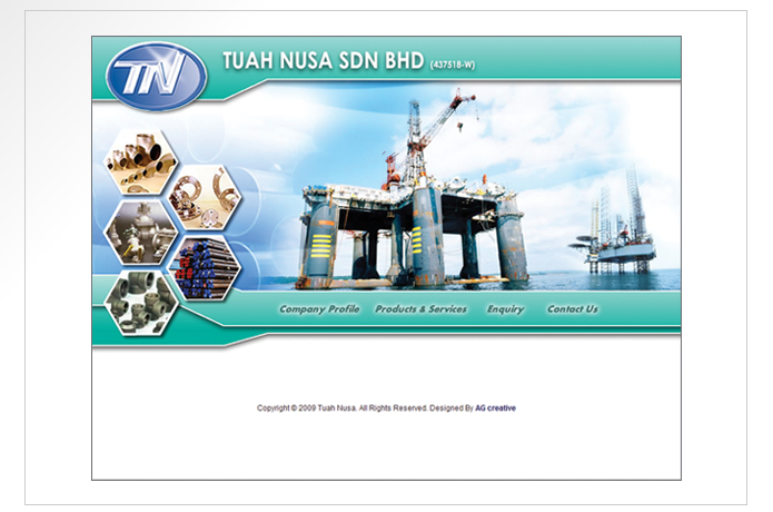 Tuah Nusa Website